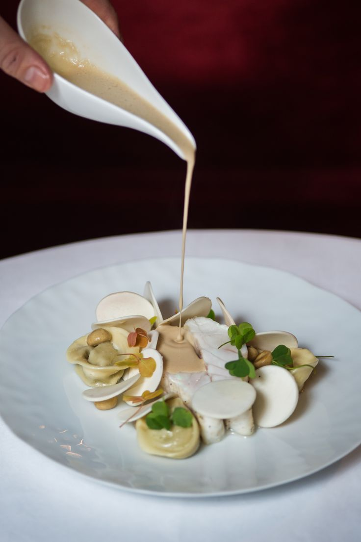 The Spring lunch menu at Le Restaurant, with light and fresh cuisine by Head Chef Julien Montbabut. #paris #luxury #restaurant #michelinstar #chef