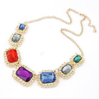Multicolor collana