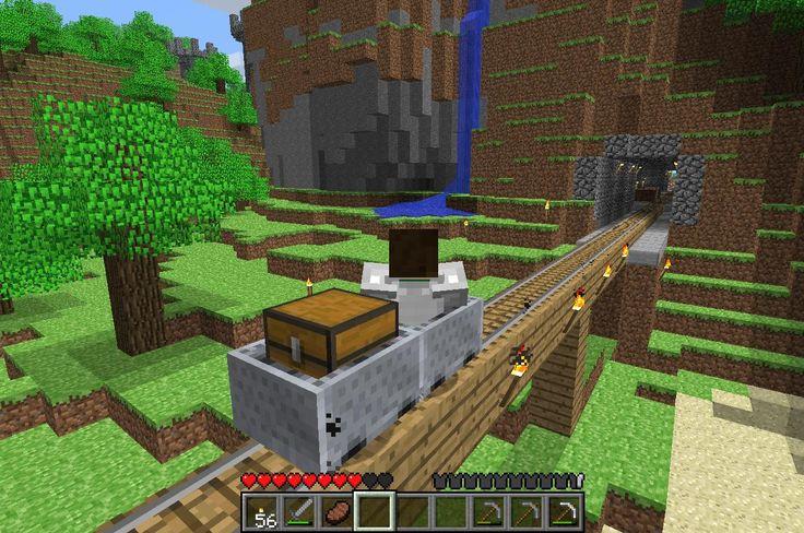 minecraft pictures | Se puede trastear bastante mucho.. Railes, granjas, mecanismos, cuevas ...