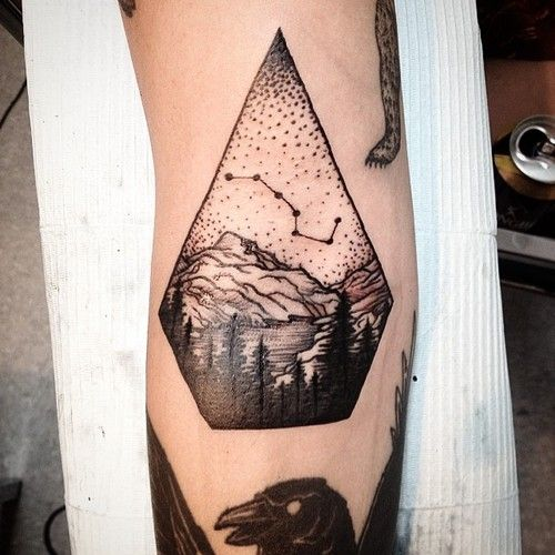 big dipper little dipper tattoo - Google Search