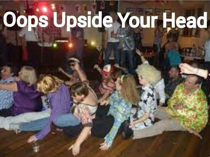 Image result for oops upside your head wedding gif