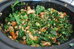 Kale and Black Eyed Peas