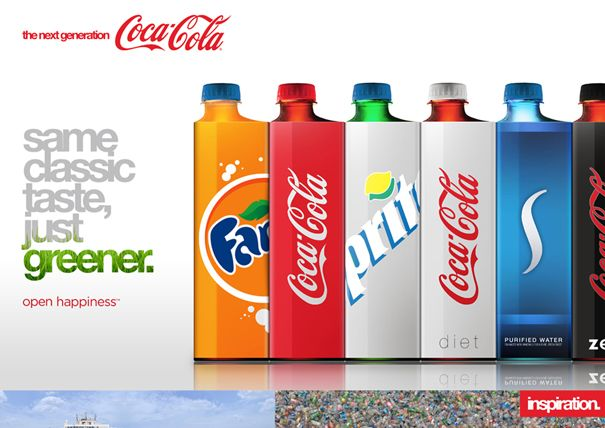 They really need to do this.Eco Coke, Andrew Kim, Coke Bottle, Packaging Design, Cocacola, Sodas Bottle, Products, Coca Cola Bottle, Bottle Design