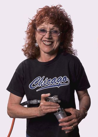 Judy Chicago - artist, author, feminist, educator, intellectual. Creator of The Dinner Party (1974–79)