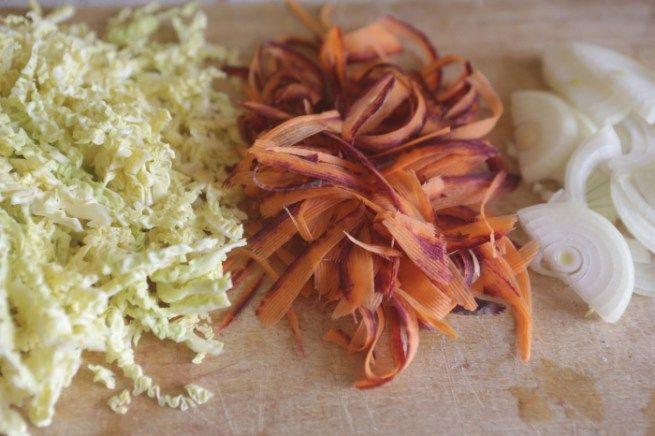 Arroz com Lentilhas e Legumes