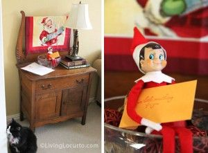 Special delivery! Peter 1 300x221 25 Elf on the Shelf QUICK & EASY Ideas that take Under 5 mins!