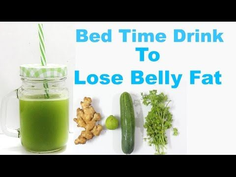 Drink This Before Going to Bed to Help Burn Belly Fat | Natural Cures - YouTube