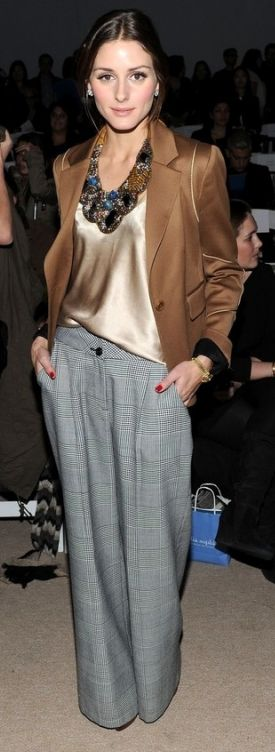 Olivia Palermo Photos: Tibi - Front Row - Fall 2010 MBFW