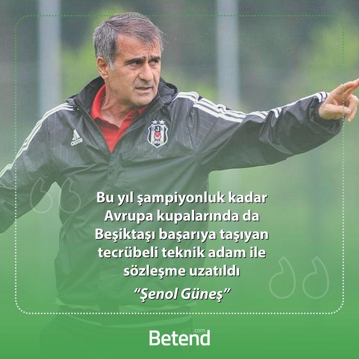 Uzun süredir kalacak mı gidecek mi tartışmaları dün akşam mutlu sonla tamamlandı. Beşiktaş kulübü teknik direktör Şenol Güneş ile 2 yıllık daha sözleme yeniledi. http://betend900.com