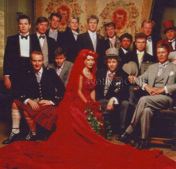 Paula Yates Bob Geldof, bruiloft die  plaatsvond 31 augustus 1986 in Las Vegas