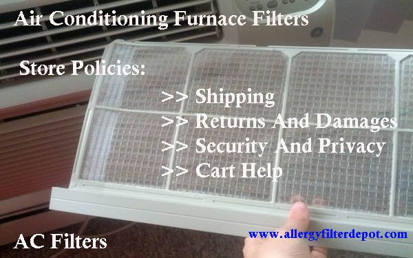 Shop at AllergyFilterDepot.com for quality air filters for humidifiers, air conditioning units, heaters and furnaces. Contact us for more information: 888-616-FILTER.
