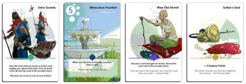 Sultan's Library Kickstarter #Cards #Games #Art #Crowdfunding