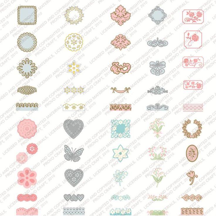 13 best Cricut Martha Stewart elegant cakes cartridge images on
