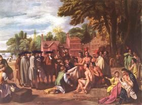 The Treaty of Penn with the Indians - Benjamin West
