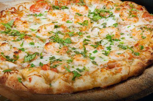 Recipe: Lobster, shrimp and scallop scampi pizza
