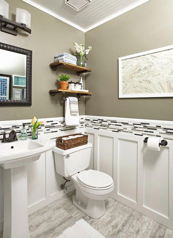 64 Simple Guest Bathroom Makeover Ideas On A Budget # ...