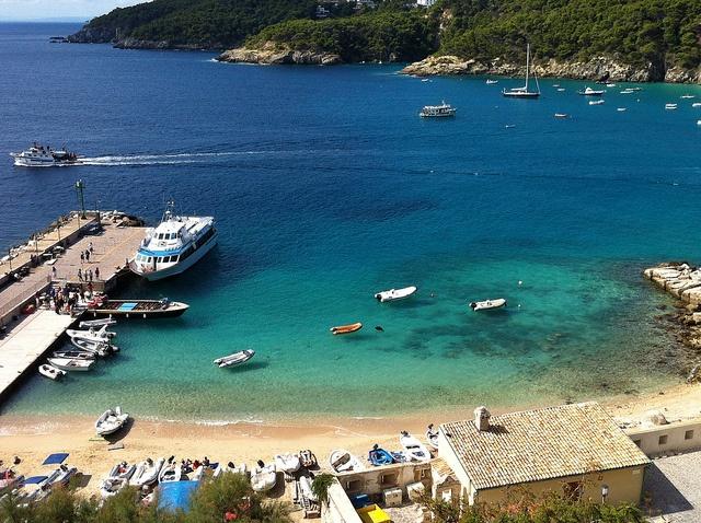 Barche volanti alle Tremiti. #garganoecotour