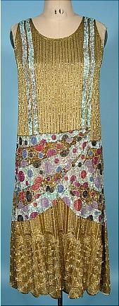 Another flapper dress. The beading is amazing!