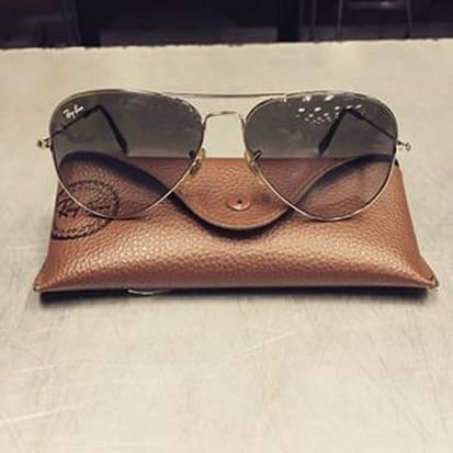 Ray Ban Aviators Sunglasses Only $14.99 #Ray #Ban #Aviators RB Aviators! 2015 Women Fashion Style From USA Glasses Online.