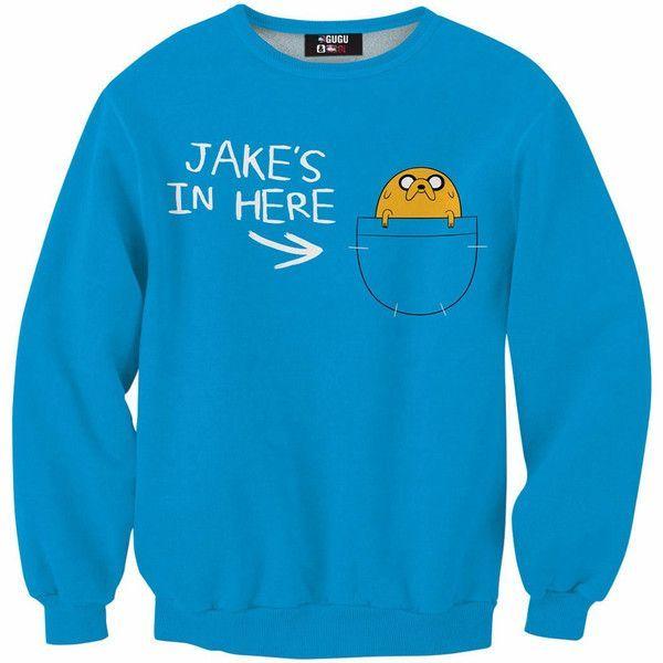 Adventure Time Jakes Adult Hoodie