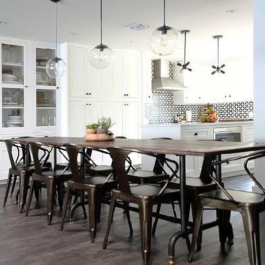 Long Narrow Dining Table: Best 25+ Long Narrow Dining Table Ideas On Pinterest