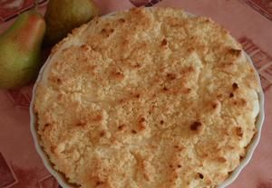 Báječný hruškový (jablečný) koláč s tvarohem
