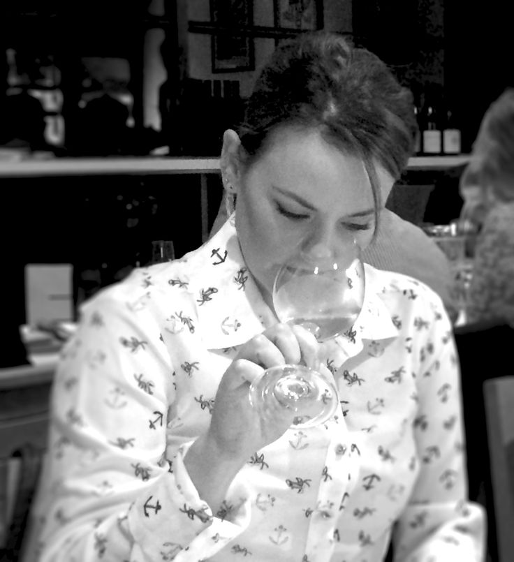 Sniffing properly to experiencing a wine's bouquet.