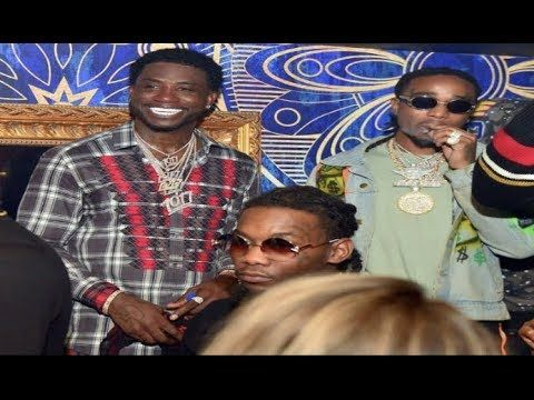 """Gucci Mane """"Gives Migos $100K 1017 Chains"""" - YouTube"""