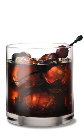 Black Russian: 1 3/4 oz vodka, 3/4 oz coffee liqueur