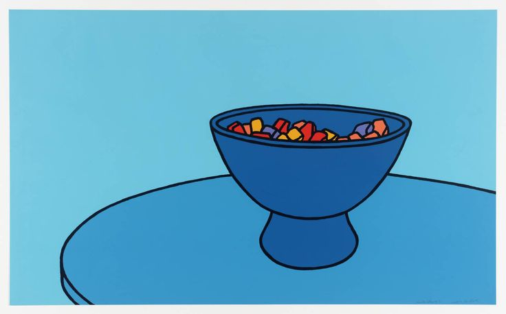 Patrick Caulfield 'Sweet Bowl', 1967 © The estate of Patrick Caulfield. All Rights Reserved, DACS 2014