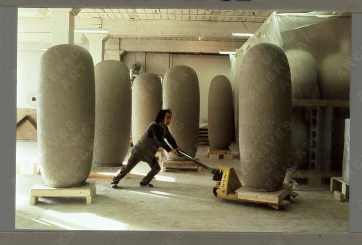 Jun Kaneko moving work:
