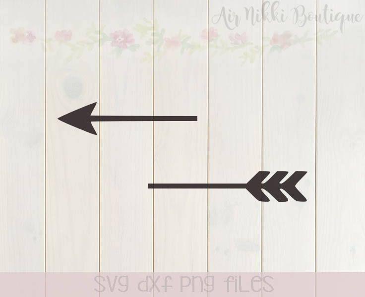 Split Arrow Svg Png Dxf Files Instant Download Arrow