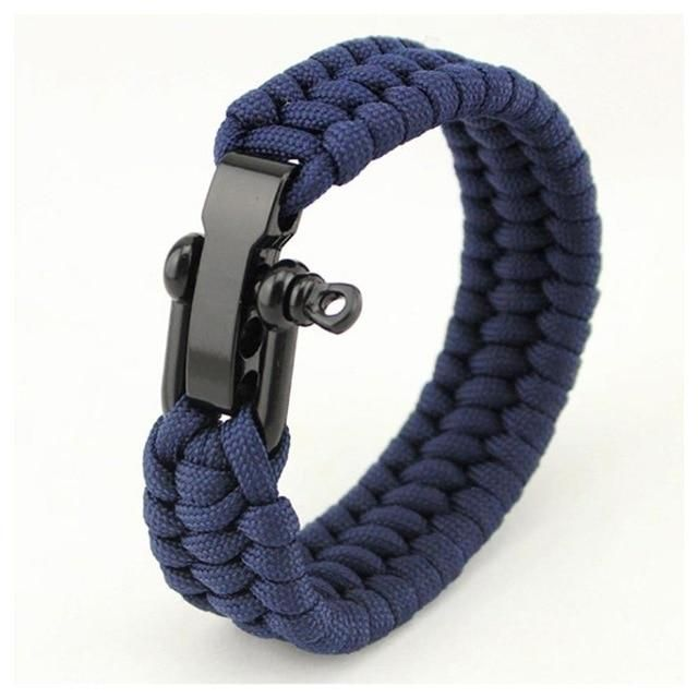 Bracelet from Para-Cord 550 Type III-Bracelet-Survivor-Outdoor Choose Colour
