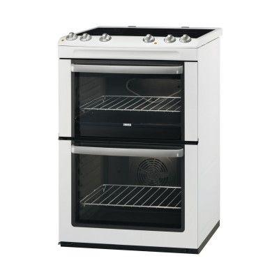 Zanussi Avanti - Electric Cooker (Double Oven) in White - at Atlantic Electrics #Zanussi #ElectricsCooker #oven #kitchenappliances