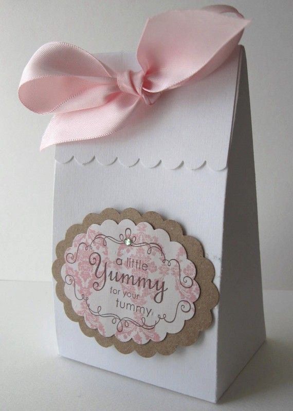 Wedding Party Favor Box  White Yummy by WhimsyPics on Etsy, $3.60