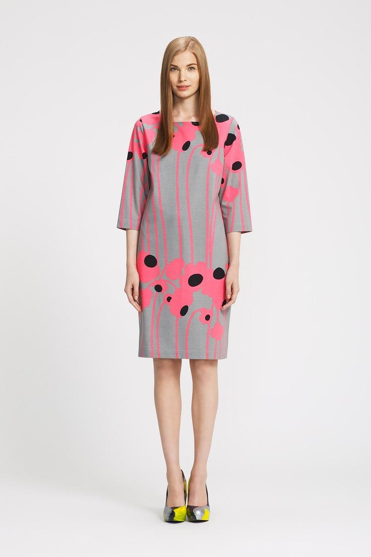 Eura, Marimekko Spring 2013 modern floral print #TopshopPromQueen