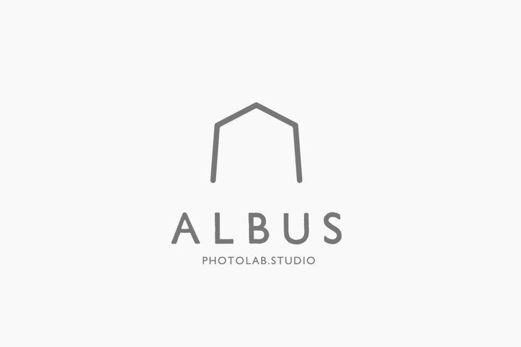 フォトスタジオ アルバスのロゴ  #vi #ci #logo #typo #design #fukuoka #photo