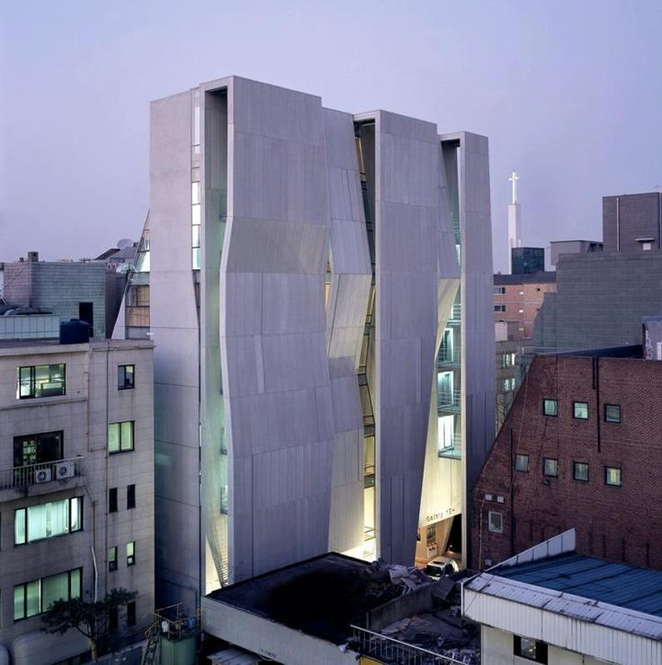 Gallery Yeh by Unsangdong Architects in Seoul, Korea.