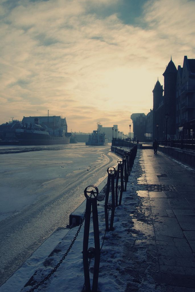 #Winter in #Gdansk, Poland (by che-lil) #ilovegdn