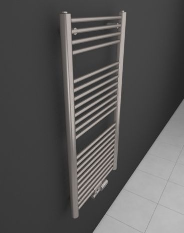 One of the most favourite HOTHOT stainless steel radiators. This bathroom ladder heater stands out with its huge bars – Satin Stainless. With central connection and an added stainless steel thermostatic valve, this radiator is an embodiment of beauty that warms. HOTHOT Exclusive s.r.o.