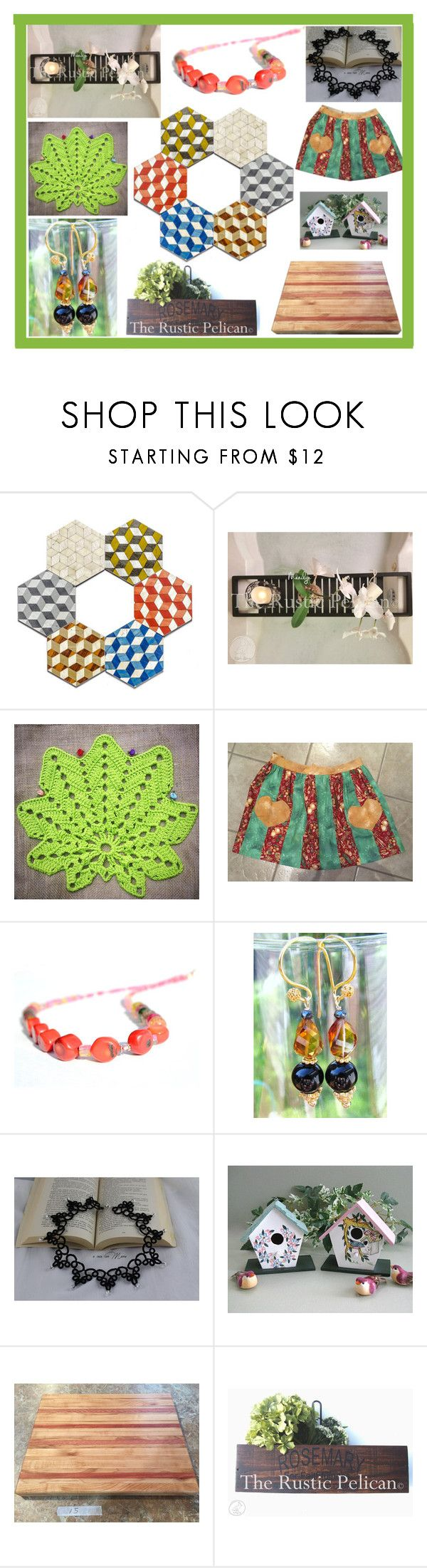 """""""Great Etsy Shopping"""" by belladonnasjoy ❤ liked on Polyvore featuring Cadeau and rustic"""