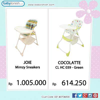 Dapatkan kursi makan Joie Mimzy Snackers & Cocolatte high chair hanya di www.babylonish.com  Gratis ongkir Jabodetabek.