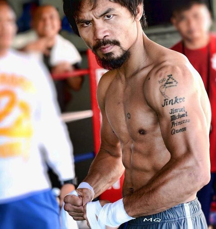 """Manny Pacquiao: """"The secret to getting stronger is working harder."""" #boxing #boxingnews"""