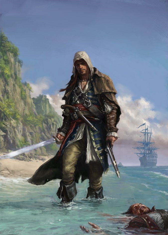 Assassins creed black flag by karlkopinski