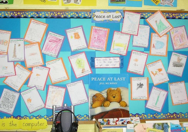 Peace at last classroom display photo - Photo gallery - SparkleBox