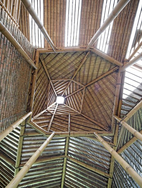 Modren Bamboo Architecture Buildings And Structures In Design Inspiration