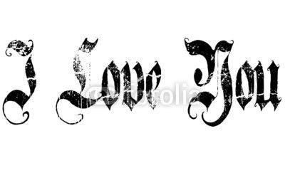 I love you © morgan capasso