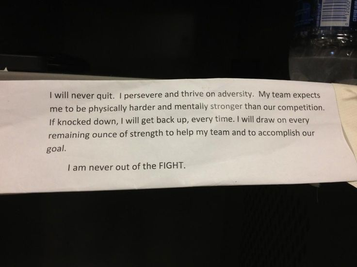 quotes navy seals i will never quit | ... Witten Hangs Inspirational Message From Navy SEALs in Locker (Photo