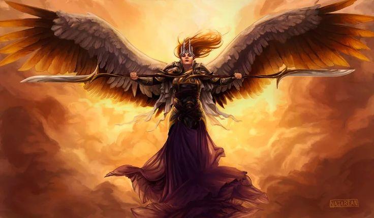 Divine justice by stephen najarian in 2020 sci fi art