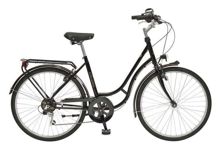 Vélo de Ville Femme Gitane GITANE 1930 - Shimano Tourney Noir 2016   Alltricks.fr